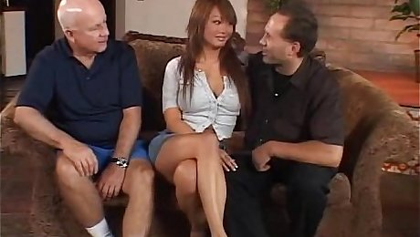 Interracial Swinger Action With Asian MILF