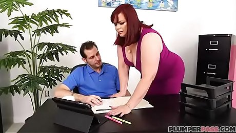 Office Slut Marcy Diamond Fucks Her Boss To Keep Her Job