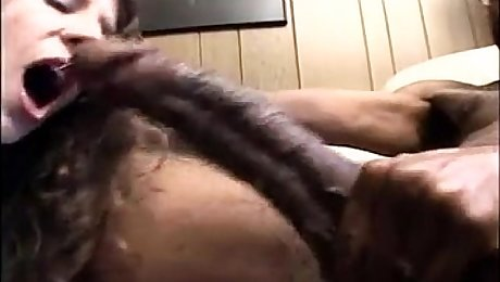 Massive Cock Throat Cumshot
