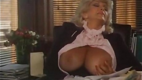Classic video with office blowjob